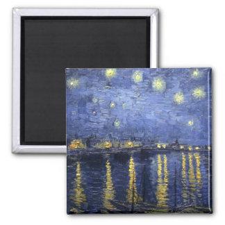 Imã Noite estrelado sobre o ímã 3 de Rhone