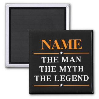 Imã Nome personalizado o homem o mito a legenda