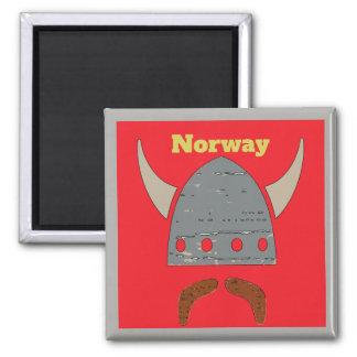 Imã Noruega, cabeça de Viking
