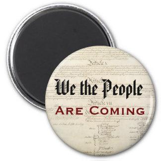 Imã Nós as pessoas somos vir patriótica