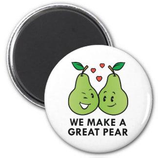 Imã Nós fazemos uma grande pera