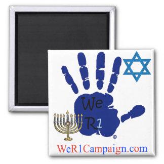 Imã Nós ímã judaico da mão R1