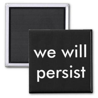 Imã nós persistiremos