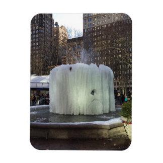 Ímã Nova Iorque congelada NYC do parque de Bryant da