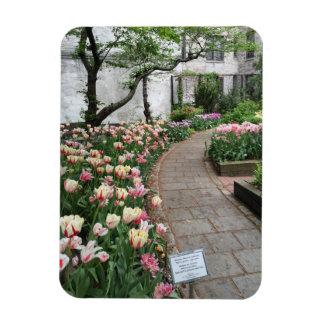 Ímã Nova Iorque NYC da tulipa do jardim da comunidade
