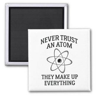 Imã Nunca confie um átomo