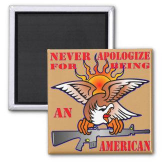 Imã Nunca desculpa-se sendo um AR15 americano M16