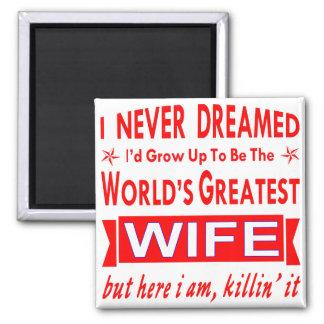 Imã Nunca sonhado eu seria a grande esposa do mundo