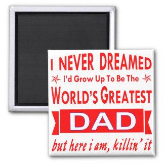 Imã Nunca sonhado eu seria mundo grande