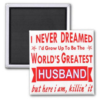Imã Nunca sonhado eu seria o grande marido do mundo