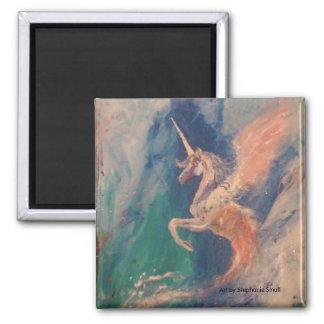 Imã Nuvem voada de Pegasus do unicórnio
