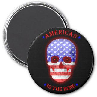 Imã O americano ao osso desvanece-se