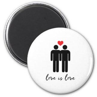 Imã O amor é amor (os homens) + Coração