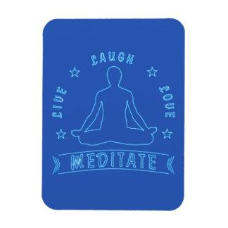 Ímã O amor vivo do riso Meditate o texto masculino (o
