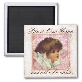 Imã O anjo do vintage abençoa nossa casa