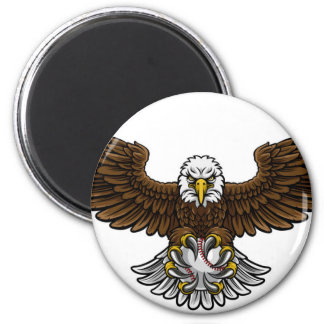 Imã O basebol de Eagle ostenta a mascote