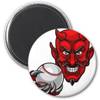 Imã O basebol do diabo ostenta a mascote