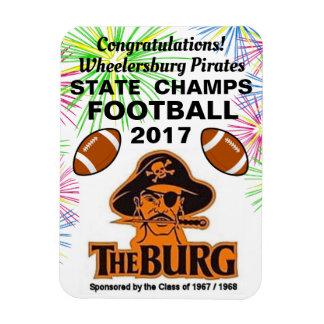 Ímã O Burg ganha o campeonato do futebol -