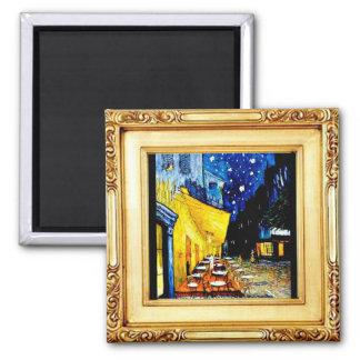 Imã O café da noite, Van Gogh, arte, ímã