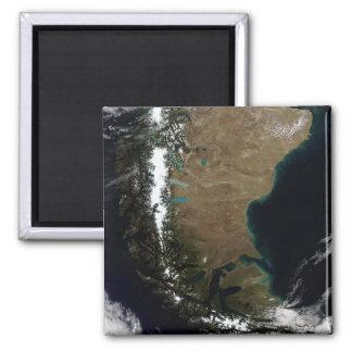 Imã O Chile e a região Patagonian de Argentina