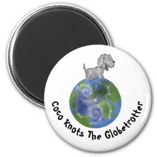 Imã O Coco ata o Globetrotter