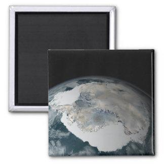 Imã O continente congelado da Antártica
