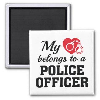 Imã O coração pertence agente da polícia