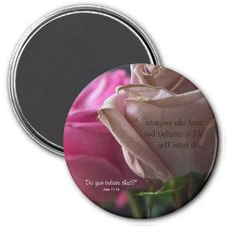 Imã O cristão vivo e nunca morre rosas