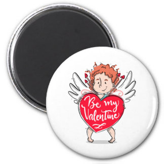 Imã O Cupido bonito seja meu ímã dos namorados |