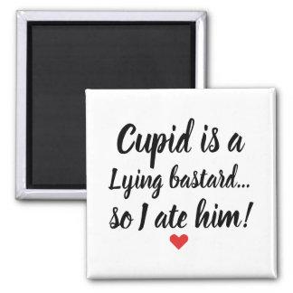 Imã O Cupido engraçado dos namorados é ímã de encontro