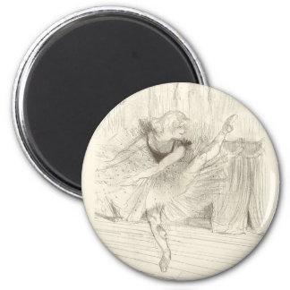 Imã O dançarino de balé, Toulouse-Lautrec