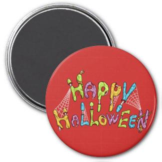Imã o Dia das Bruxas feliz - grafite do zombi