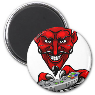 Imã O diabo Esports ostenta a mascote do Gamer
