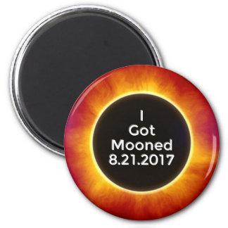 Imã O eclipse solar americano obtem o 21 de agosto de