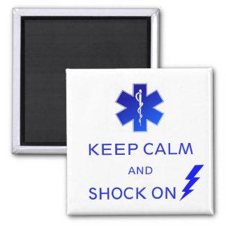 Imã O EMS mantem a calma e choca-se no ímã