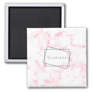 Imã o falso moderno elegante do rosa pastel e do