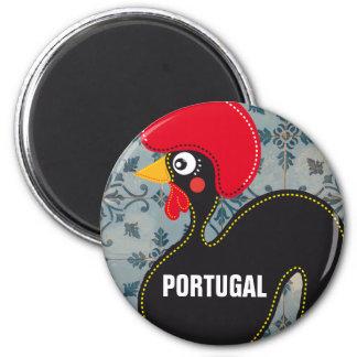 Imã O galo de Portugal e de mosaicos portugueses