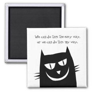 Imã O gatinho diz: Nós podemos fazer esta MINHA