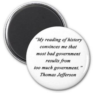 Imã O governo mau - Thomas Jefferson