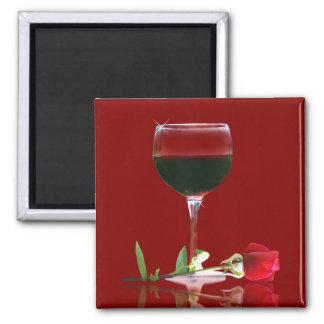 Imã O ímã de amante de vinho