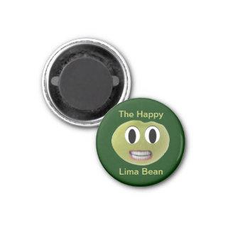 Imã O ímã feliz do feijão-de-lima