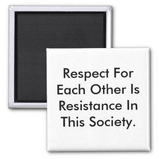 Imã O ímã que diz o respeito é resistência