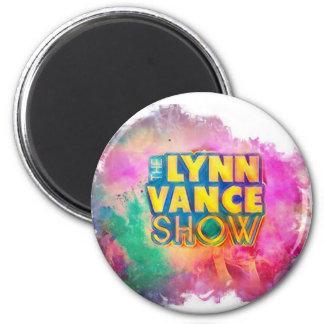 Imã O ímã redondo da mostra de Lynn Vance