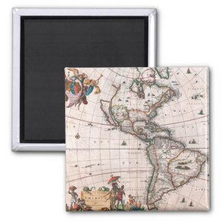 Imã O mapa de Visscher do mundo novo