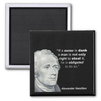 Imã O Meme húmido de Alexander Hamilton - ímã