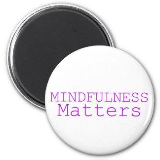 Imã O Mindfulness importa roxo