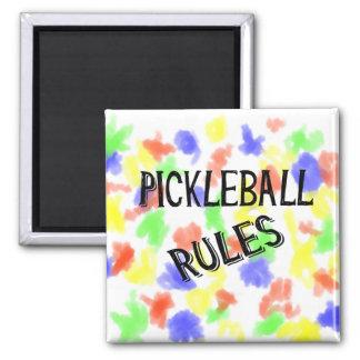 Imã o pickleball ordena a bola preta da salmoura do