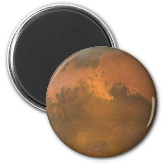 Imã O planeta vermelho Marte