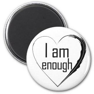 Imã o preto emplumou-se o coração 'que eu sou enough