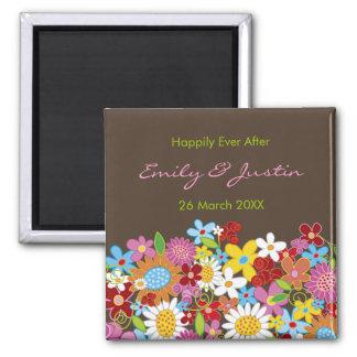 Imã O primavera floresce o jardim floral que Wedding